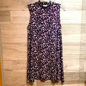 3/$30 Ripe A-line sleeveless floral swing dress M
